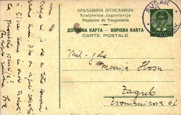 postcardYugoslavia34