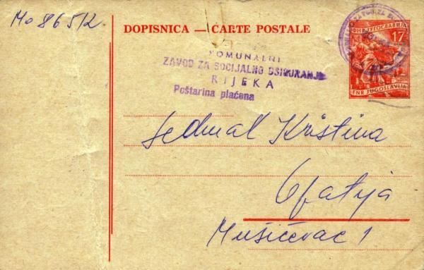 postcardYugoslavia37