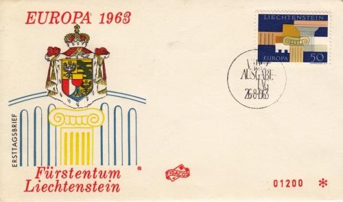 Liechtenstein-2-FDC