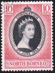 CoronationEIIR-North Borneo