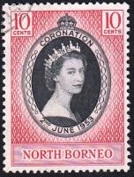 CoronationEIIR-North Borneo