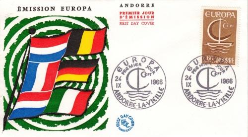FDC-eu1966-andorre