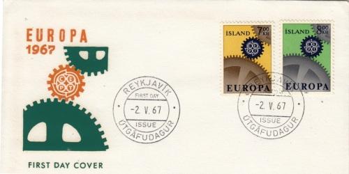 eu1967-icelandFDC