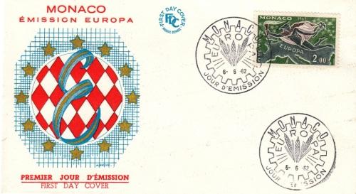 eu1962-monacoFDC