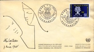 WRY-Switzerland-FDC