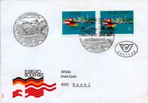 FDC-SWITZERLAND-AUSTRIA-1993-05-05