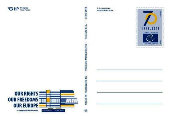 Europa Council 70th anniversary